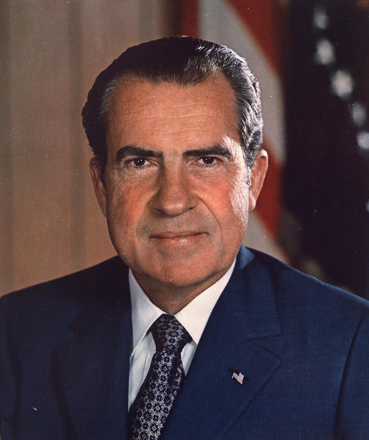 Richard M. Nixon, 37. Präsident der USA