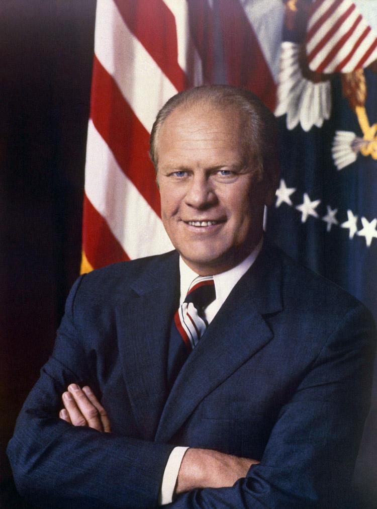 Gerald Ford, 38. Präsident der USA