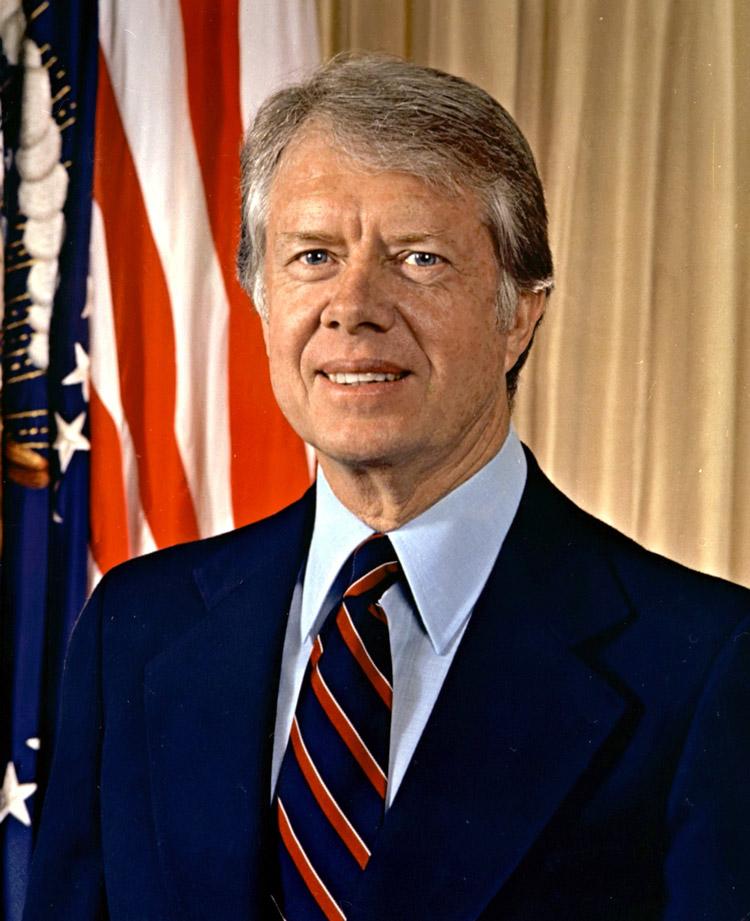 Jimmy Carter, 39. Präsident der USA