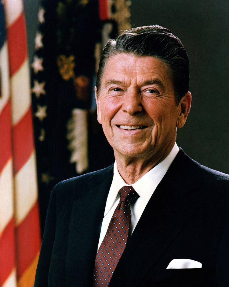 Ronald Reagan, 40. Präsident der USA