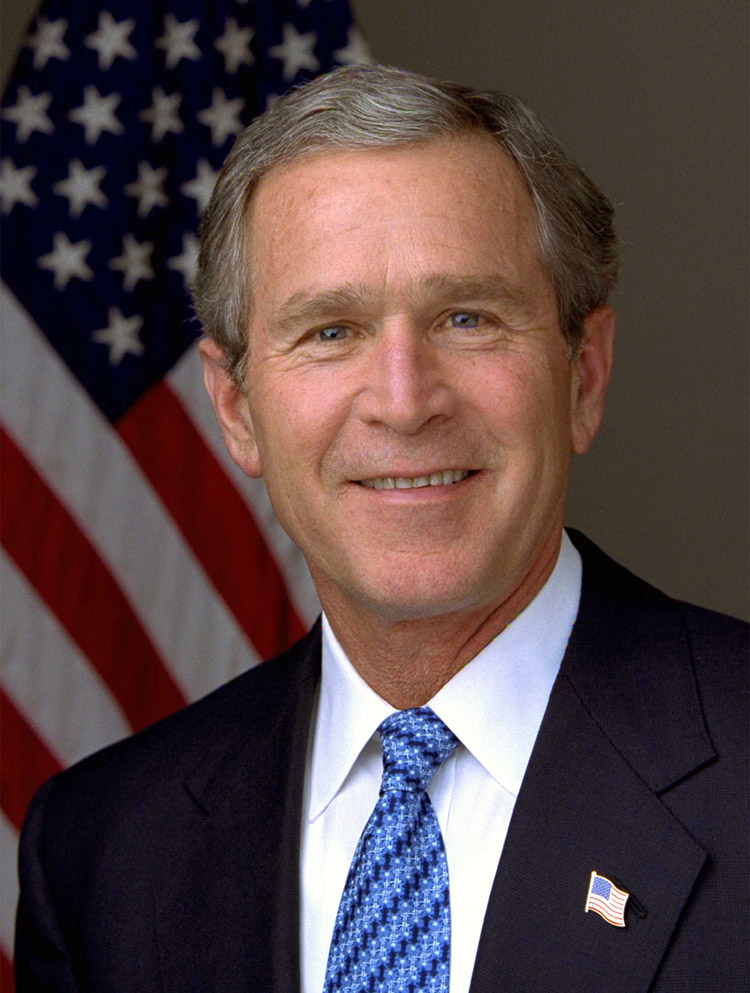 George W. Bush, 43. Präsident der USA