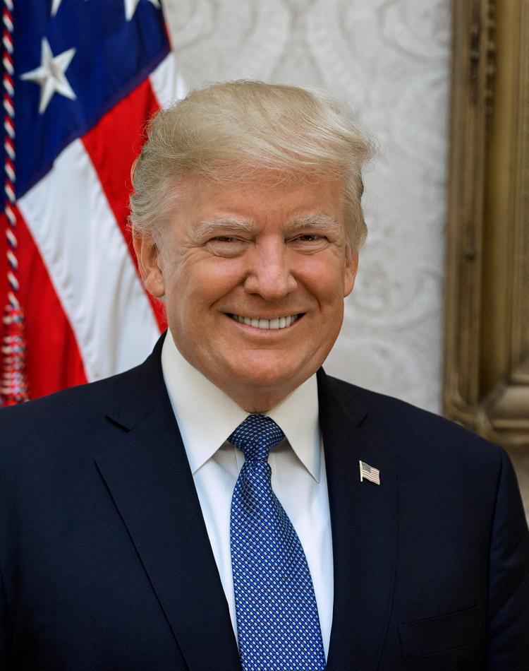 Donald Trump, 45. Präsident der USA