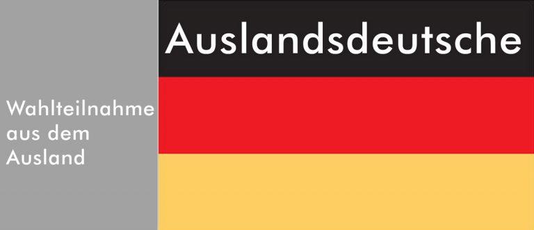 Wahlteilnahme von Deutschen im Ausland