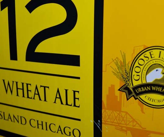 Goose Island Brauerei in Chicago: 312 Wheat Ale Beer