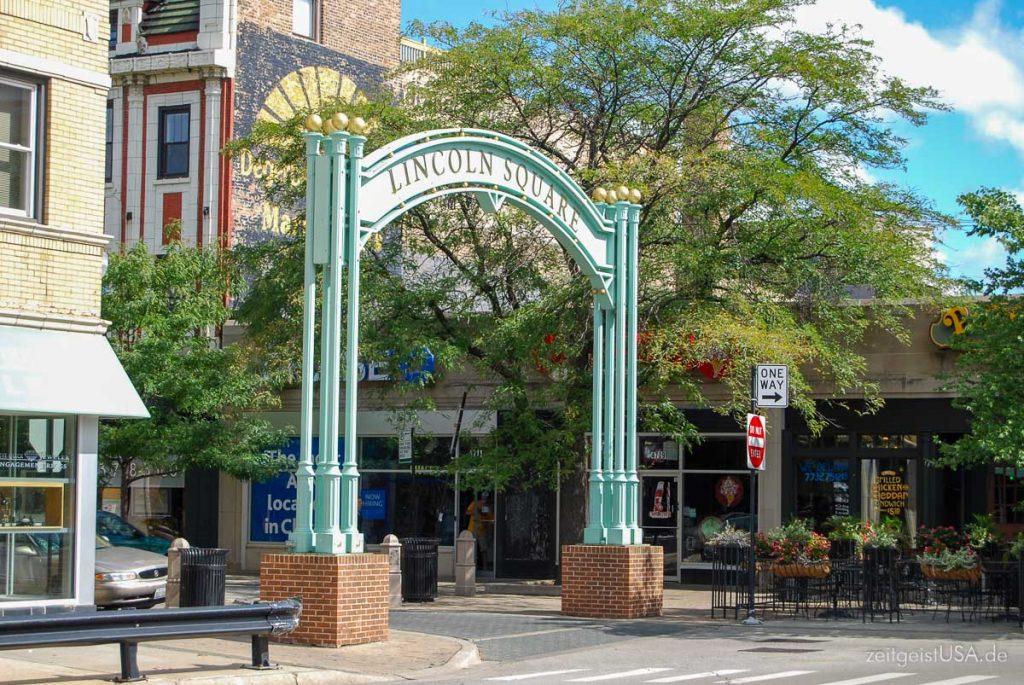 Lincoln Square in Chicago - das deutsche Viertel