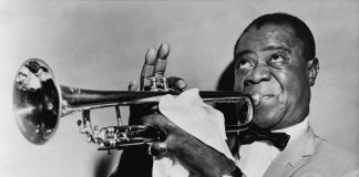 Louis Armstrong, 1953 (Library of Congress Archives, World-Telegram staff photographer [Public domain])