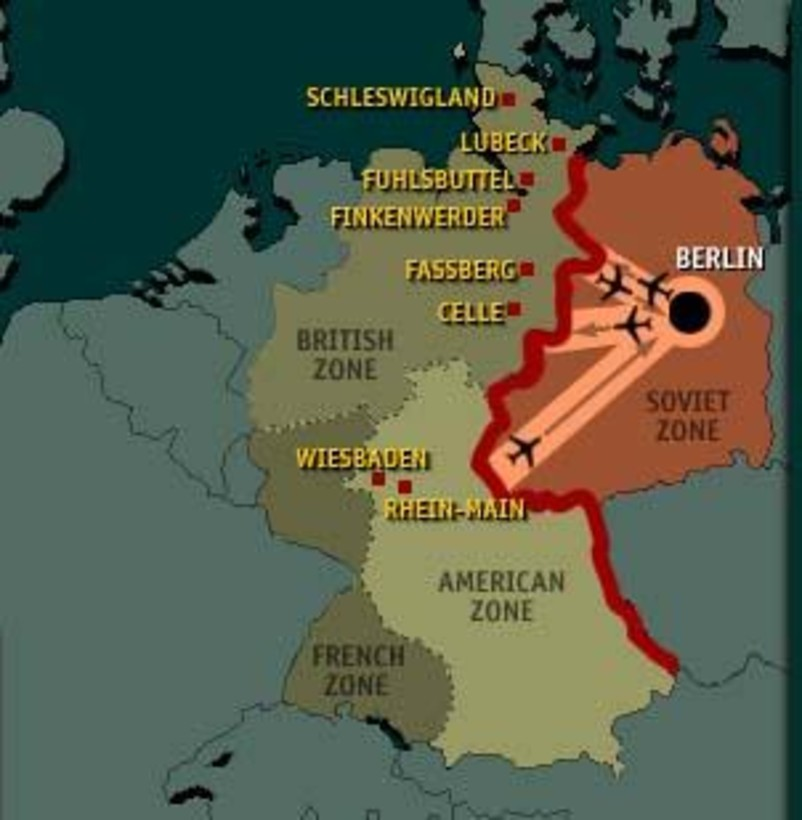 Berlin Luftkorridor und Besetzungszonen (photo credit: USAFE Office of Public Affairs