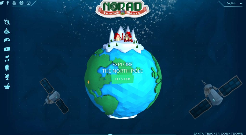 NOARD Santa Tracker Website