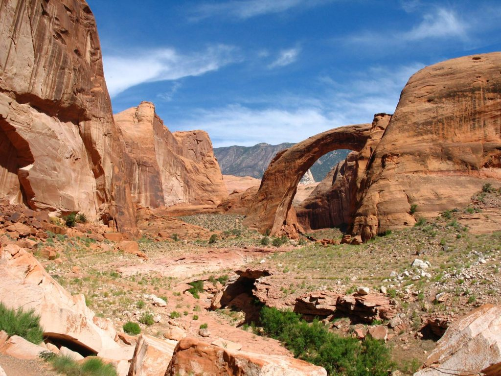Rainbow Bridge und Navajo Mountain, Utah