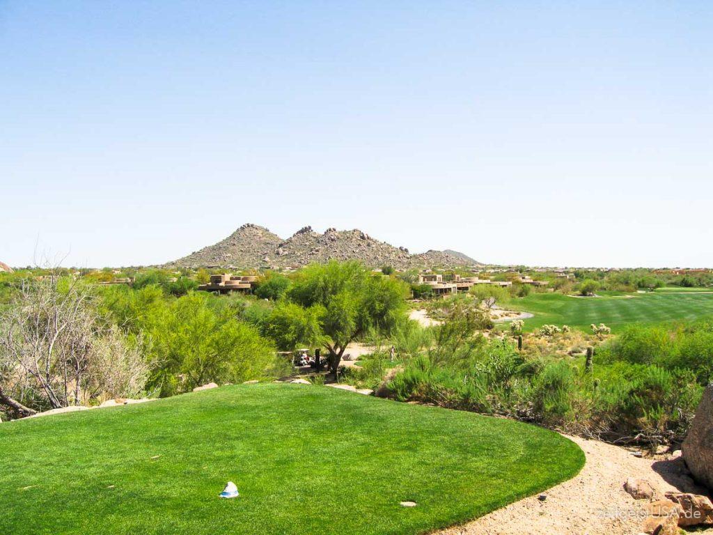 Scottsdale ist ein Golfer Paradies