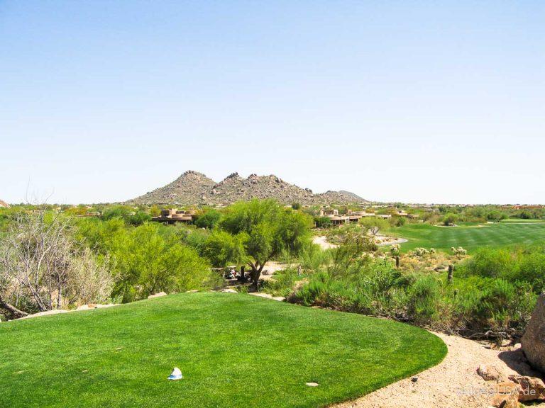 Scottsdale, Arizona — Sonnenschein, Luxus Urlaubsort