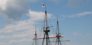 Mayflower, Plymouth, Massachusetts, USA [photo: Raime [CC BY-SA (https://creativecommons.org/licenses/by-sa/3.0)]]