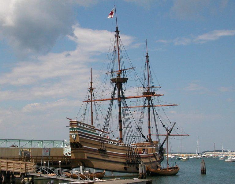 Plymouth, Massachusetts — Mayflower und Einwanderergeschichte