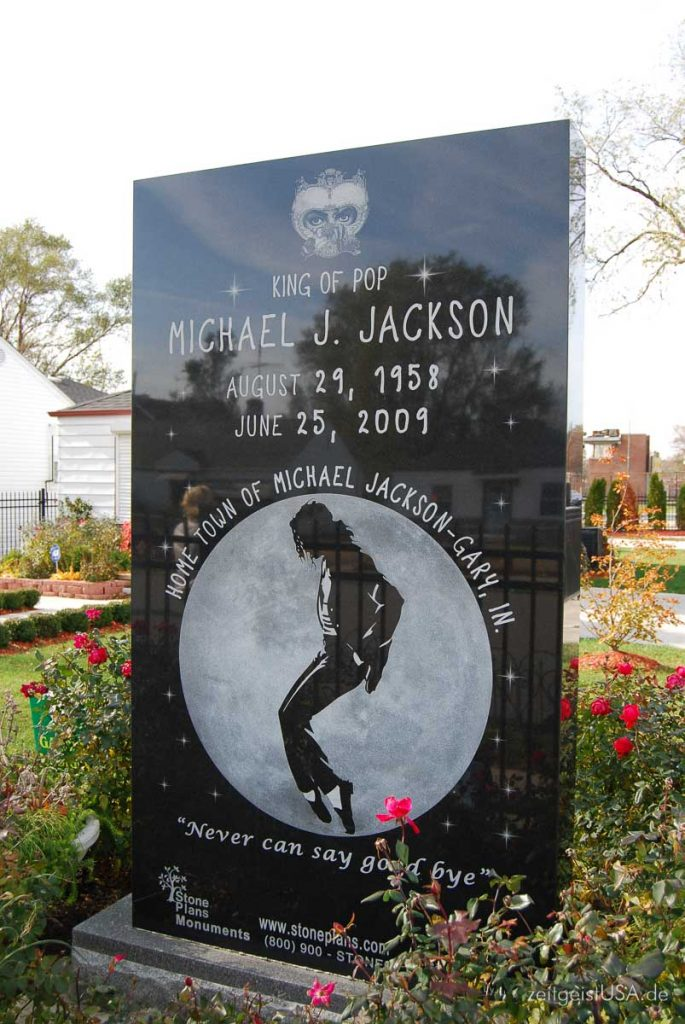 Michael Jackson Kindheits Haus in Gary, Indiana