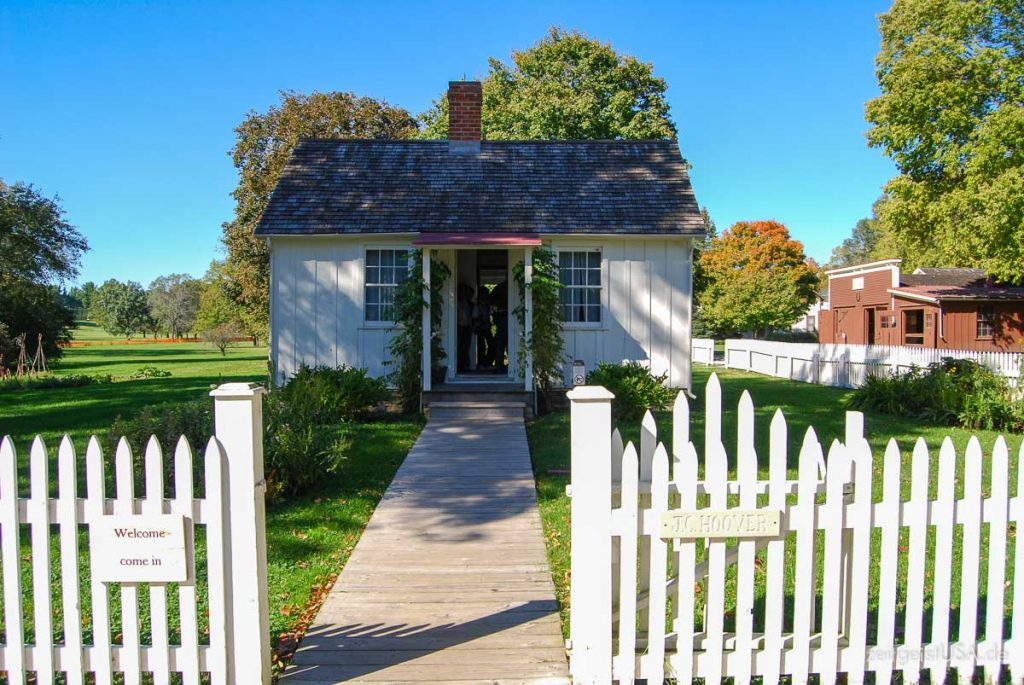 Herbert Hoover National Historic Site in West Branch, Iowa, USA