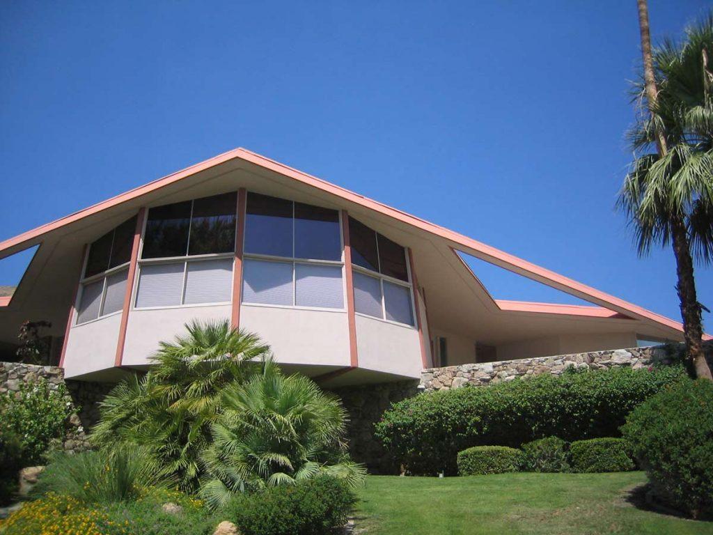 Architektur in Palm Springs, Kalifornien [photo: Palm Springs Bureau of Tourism]