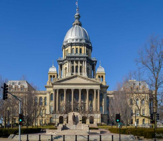 Kapitol in Springfield, Illinois