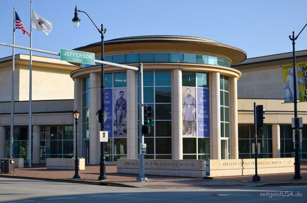 Lincoln Presidential Library and Museum, Springfield, Illinois