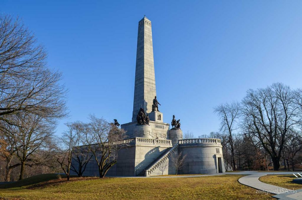 Springfield Oak Ridge Cemetery, Lincoln Tomb