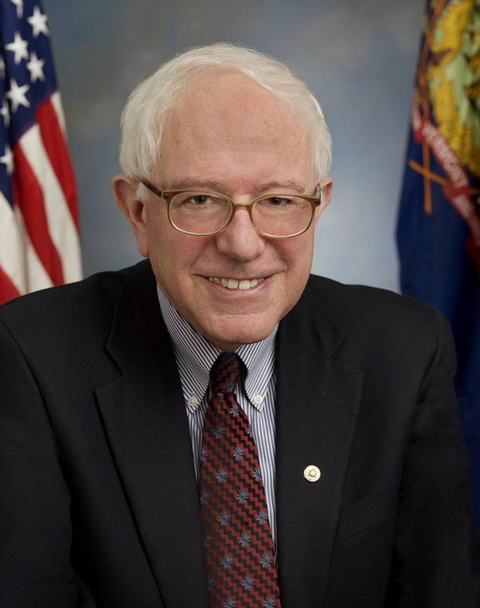 Bernie Sanders, offizielles Portraitbild als Mitglied des U.S. Senates