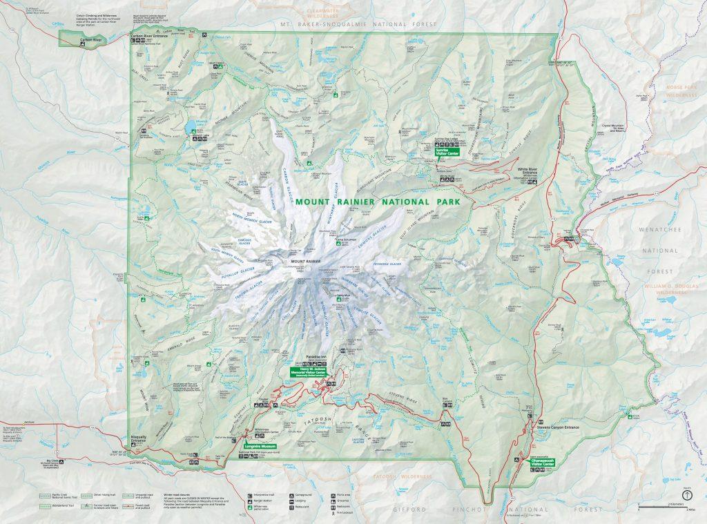 Mt. Rainier Nationalpark [NPS]