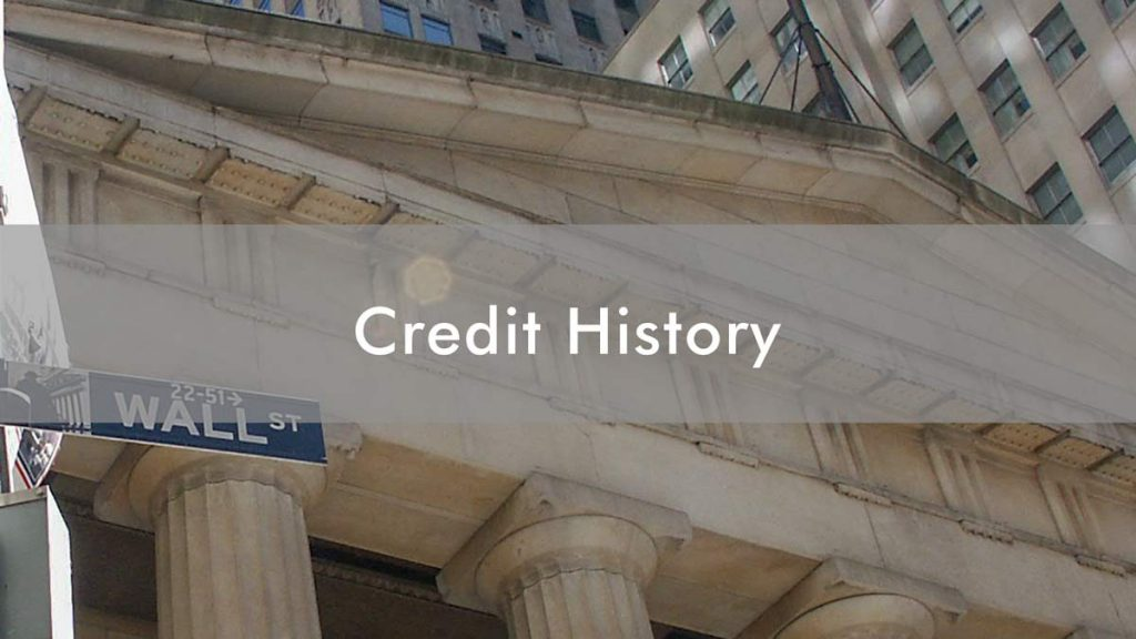 Die Credit History in den USA