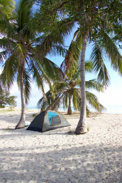 Camping auf Garden Key / Dry Tortugas Nationalpark [photo: NPS]