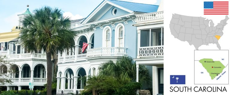 South Carolina, USA — Reisevorbereitung, Überblick und Tipps