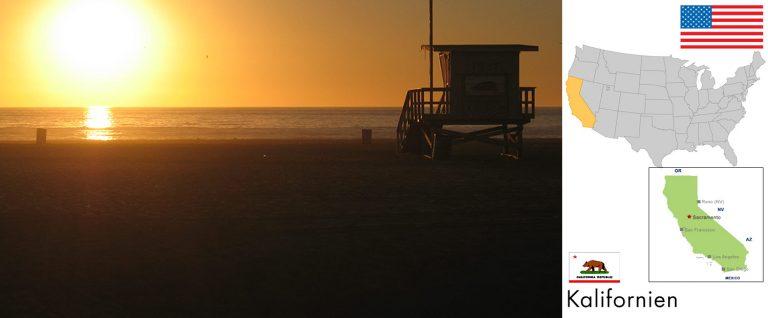 Kalifornien, USA — Reisevorbereitung, Überblick und Tipps