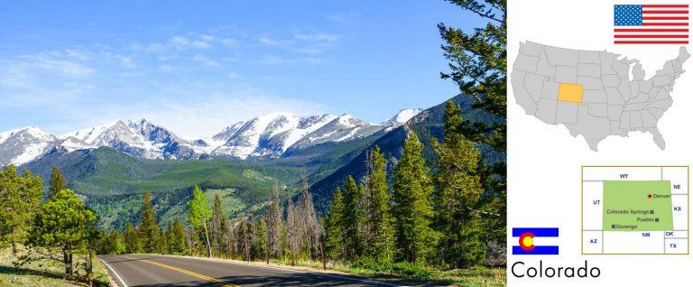 Colorado, USA — Reisevorbereitung, Überblick und Tipps