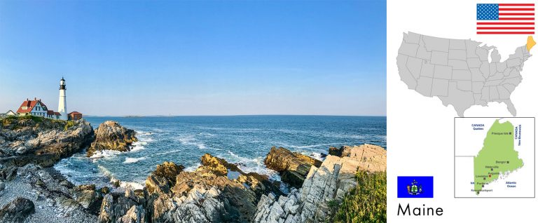 Maine, USA — Reisevorbereitung, Überblick und Tipps