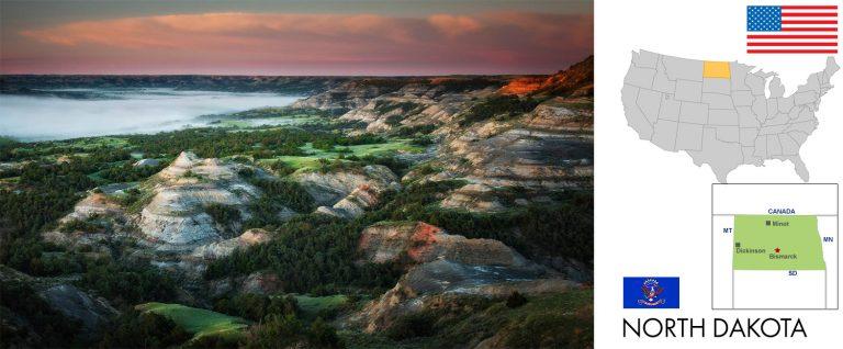 North Dakota, USA — Reisevorbereitung, Überblick und Tipps