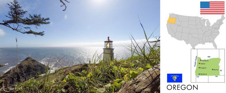 Oregon, USA — Reisevorbereitung, Überblick und Tipps