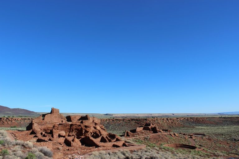 Wupatki National Monument, bei Flagstaff, Arizona, USA