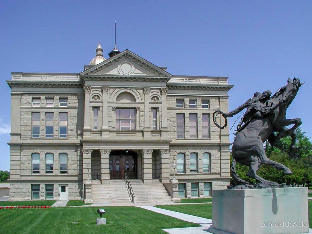 Das Kapitol in Cheyenne, Wyoming