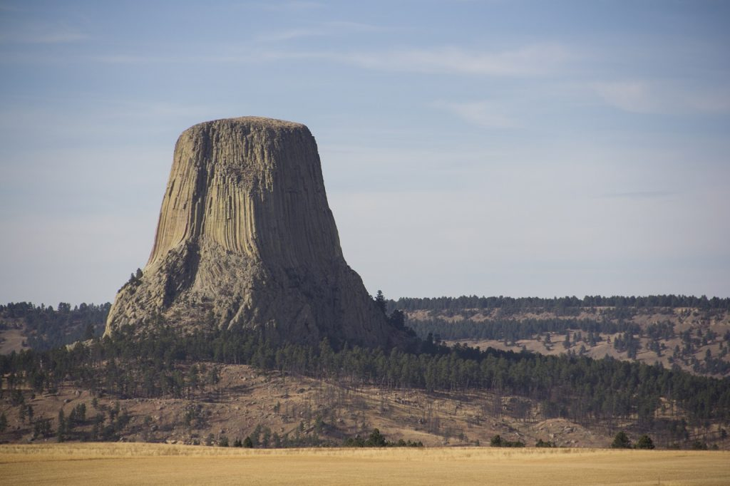 Devils Tower, Wyoming, USA [photo: NPS, Avery Locklear]
