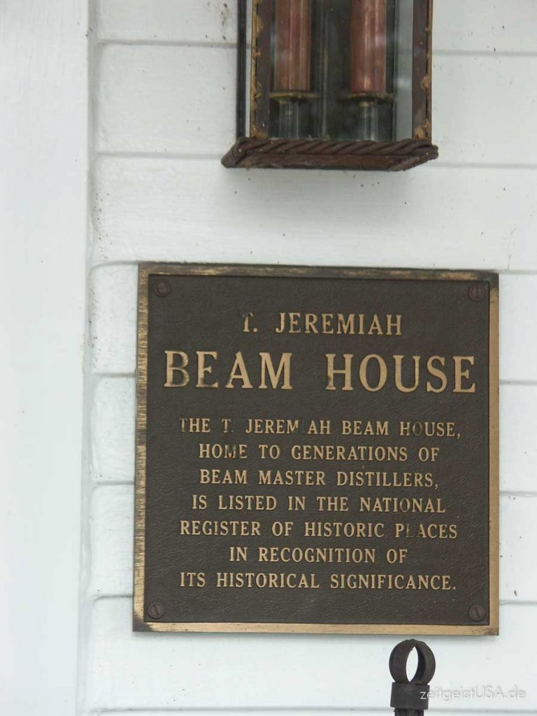 Jim Beam Distillery in Clermont, Kentucky, USA