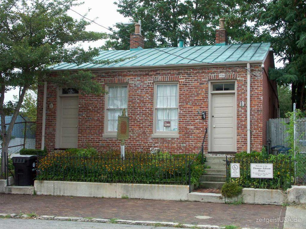 Thomas Edison House in Louisville, Kentucky