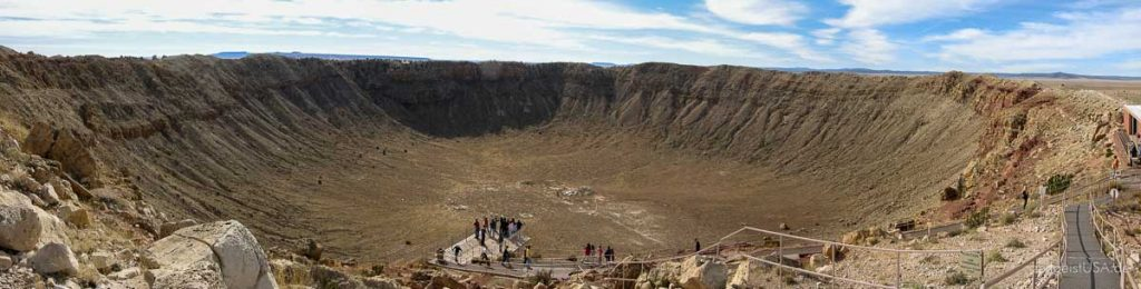 Meteor Crater, Arizona, USA [photo: zeitgeistUSA.de]