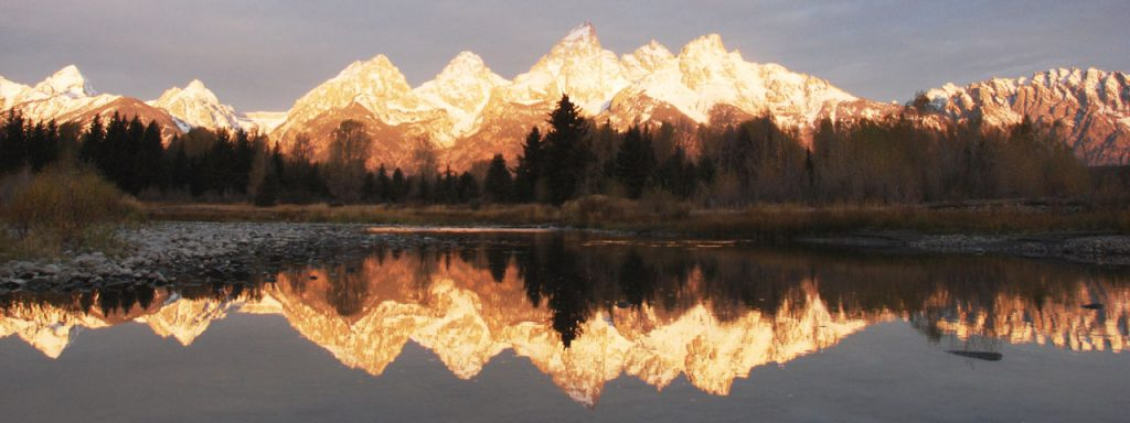 Schwabacher's-Landing, Grand Teton Nationalpark, Wyoming (photo: NPS/ D. Lehle)
