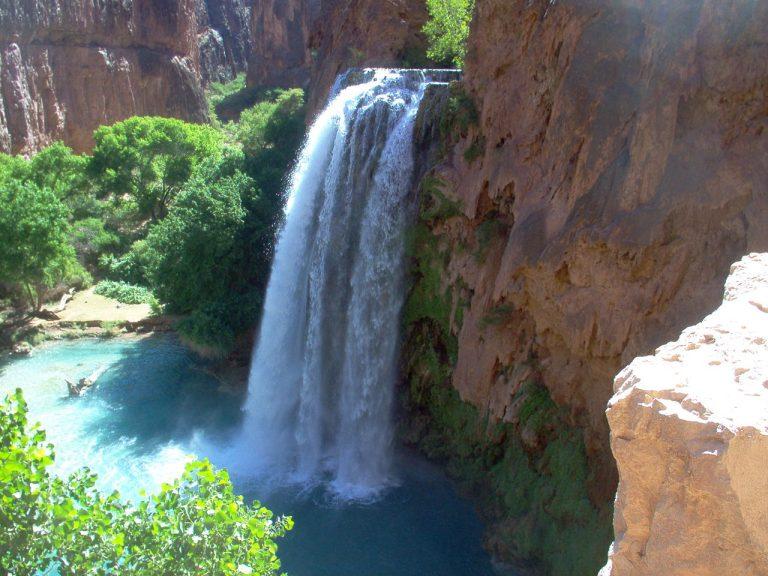 Havasu Falls, Mooney Falls, Beaver Falls, Navajo Falls, AZ